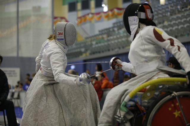 Сборная команда России по фехтованию на колясках завоевала 5 медалей на Кубке мира в Китае