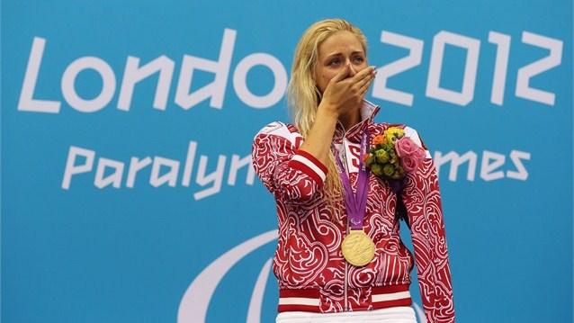 Три золотые, шесть серебряных и две бронзовых медали завоевали спортсмены сборной России в третий день Паралимпийских игр в Лондоне