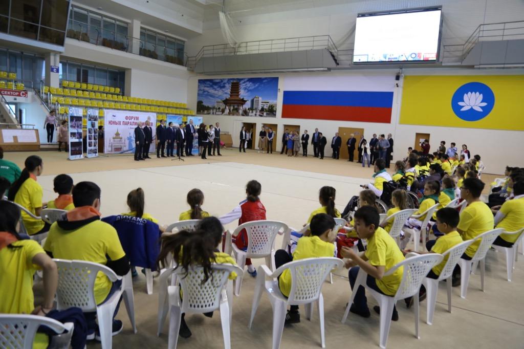 ПКР совместно с РУСАДА, региональным отделением ПКР в Республике Калмыкия при поддержке Министерства спорта и молодежной политики Республики Калмыкия в г. Элисте провели Форум юных паралимпийцев