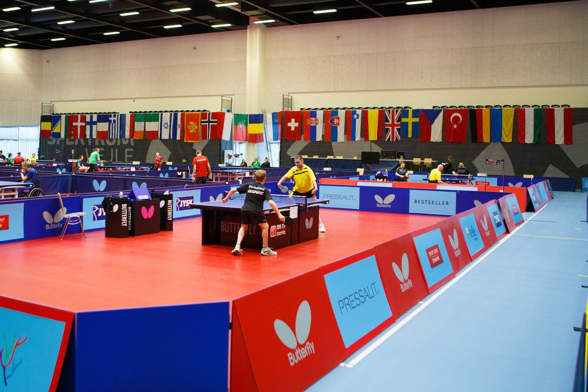 Российские теннисисты в Дании вступили в борьбу за медали чемпионата Европы
