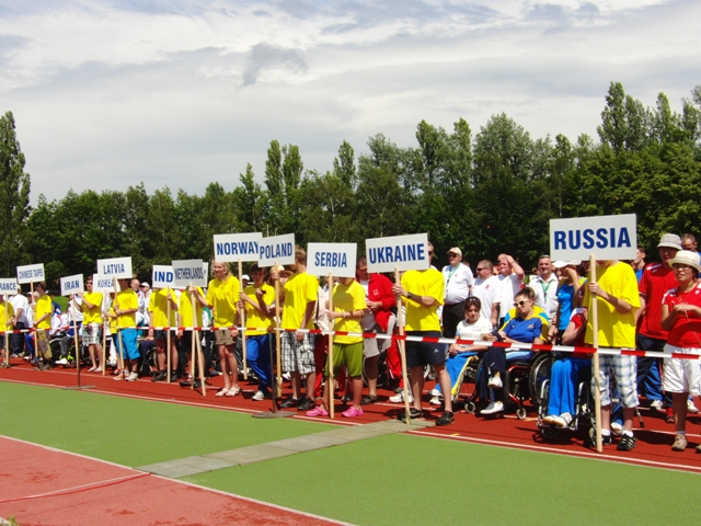 3 золотые, 1 серебряную и 1 бронзовую медали завоевала паралимпийская  сборная команда России  по стрельбе из лука  на международных соревнованиях в Чехии
