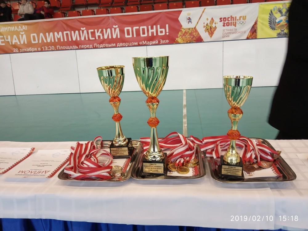 Сборная Московской области стала победителем Всероссийских соревнований по мини-футболу 5х5 класс В1 (тотально-слепые спортсмены) в Республике Марий Эл