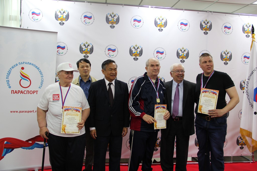 Руководители ПКР и Паралимпийского комитета Вьетнама приняли участие в церемонии награждения победителей и призеров первого соревновательного дня традиционного фестиваля паралимпийского спорта «Парафест»
