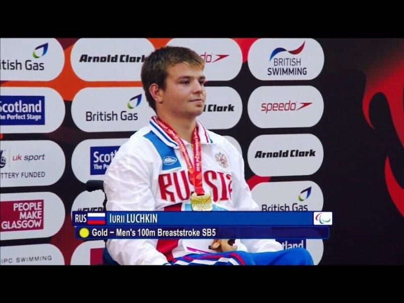 #тренимвместе с чемпионом мира по плаванию спорта лиц с ПОДА Юрием Лучкиным