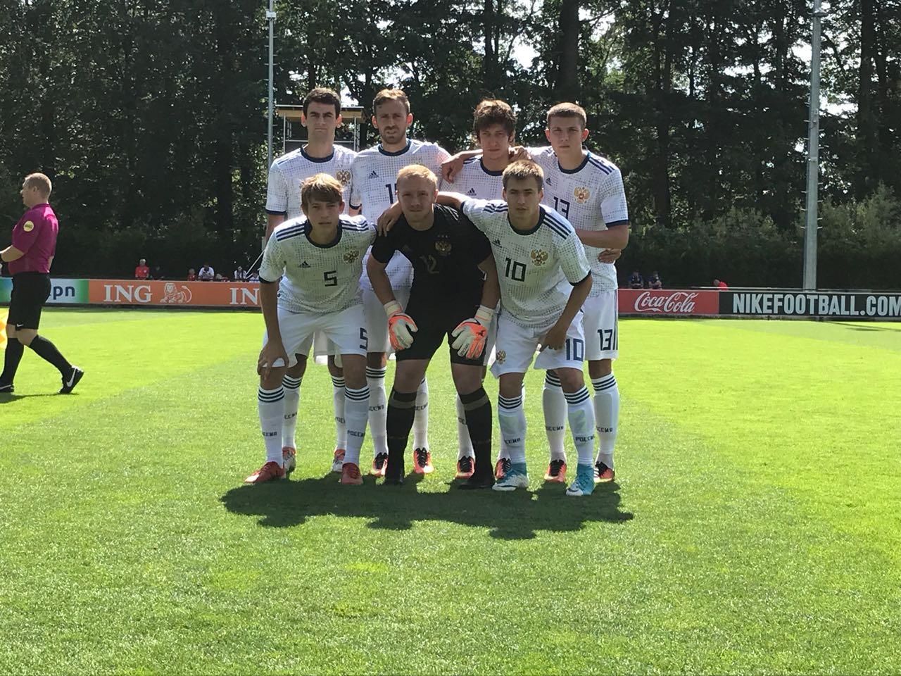Сборная команда России со счетом 1-0 нанесла поражение сборной Украины в матче третьего круга группового этапа чемпионата Европы по футболу 7х7 спорта лиц с заболеванием ЦП в Нидерландах