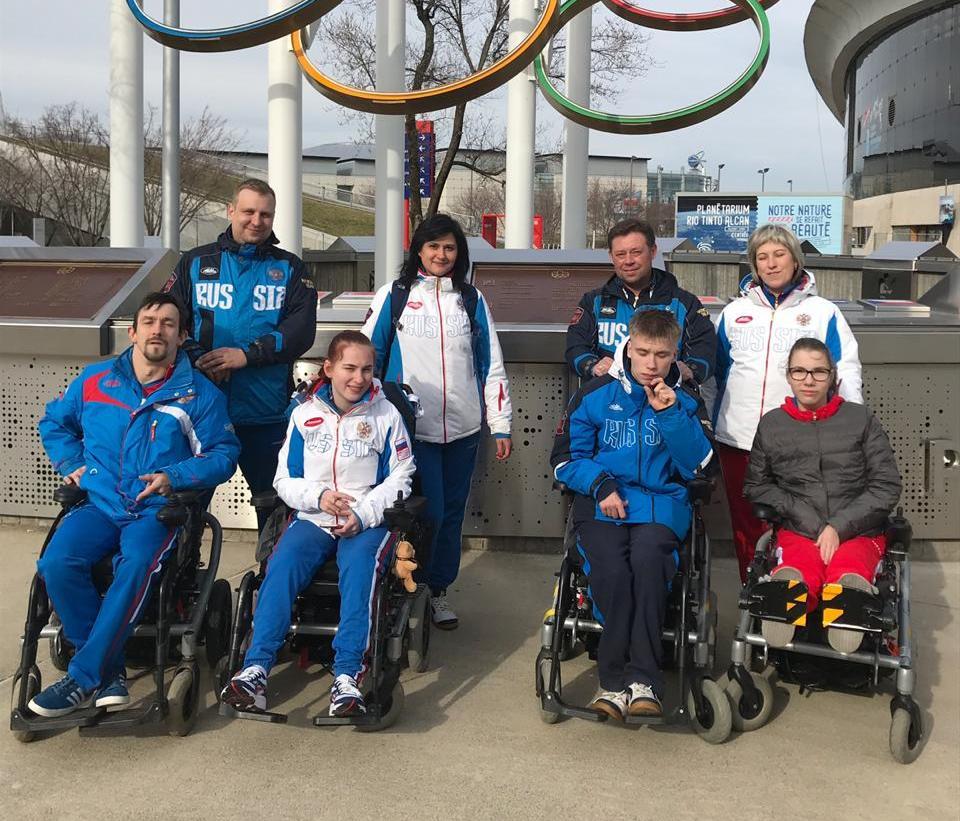 Сборная команда России по бочча принимает участие в международных соревнованиях - World Open Montreal 2019 в Канаде
