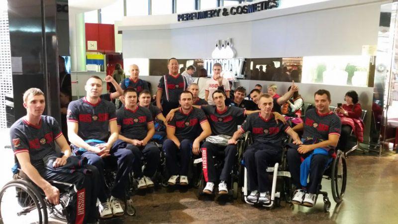 Сборная команда России по регби на колясках приняла участие в чемпионате Европы в группе B