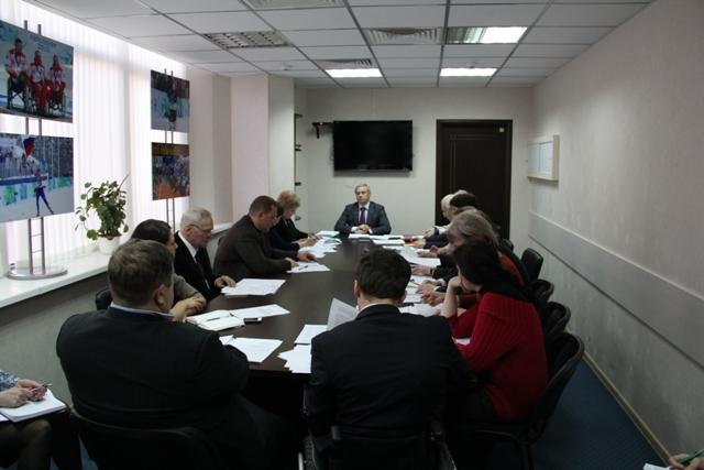 П. А. Рожков в офисе Паралимпийского комитета России провел заседание Рабочей группы по подготовке и участию сборной команды России в XI  Паралимпийских зимних играх  2014 года в Сочи