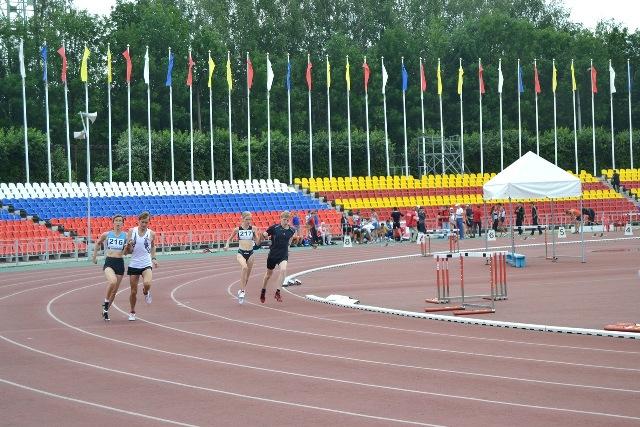 В г. Чебоксарах (Республика Чувашия) стартовал  Чемпионат России по легкой атлетике Федерации спорта слепых