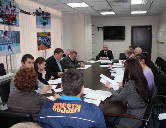 П. А. Рожков в офисе ПКР провел заседание рабочей группы по подготовке сборных команд России к участию в XI Паралимпийских зимних играх 2014 года в г. Сочи