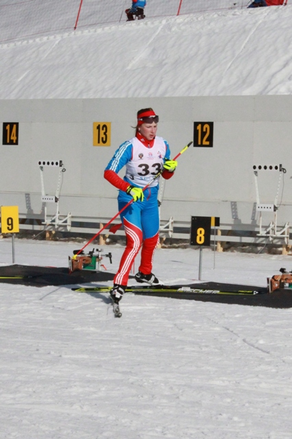 Результаты третьего соревновательного дня чемпионата России по лыжным гонкам и биатлону среди спортсменов с поражением опорно- двигательного аппарата и нарушением зрения в г. Сочи