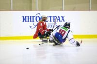 Всероссийская федерация спорта лиц с ПОДА в г. Алексине (Тульская область) проводит 2 этап чемпионата России по хоккею-следж