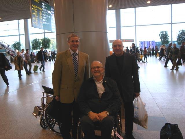 Сэр Филипп Крейвен завершил свое пребывание в Москве