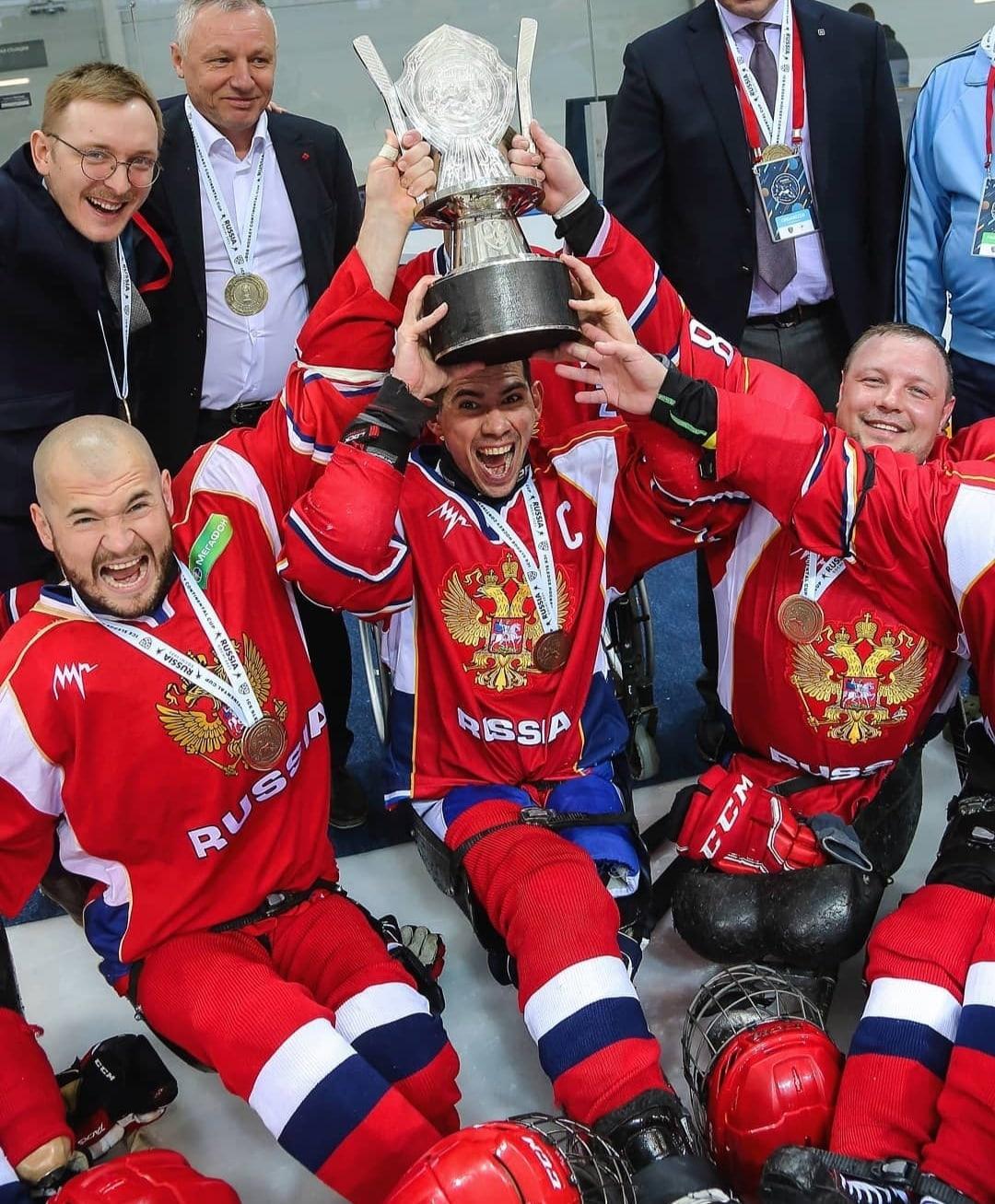 Россия-1 стала победителем III Кубка Континента по следж-хоккею