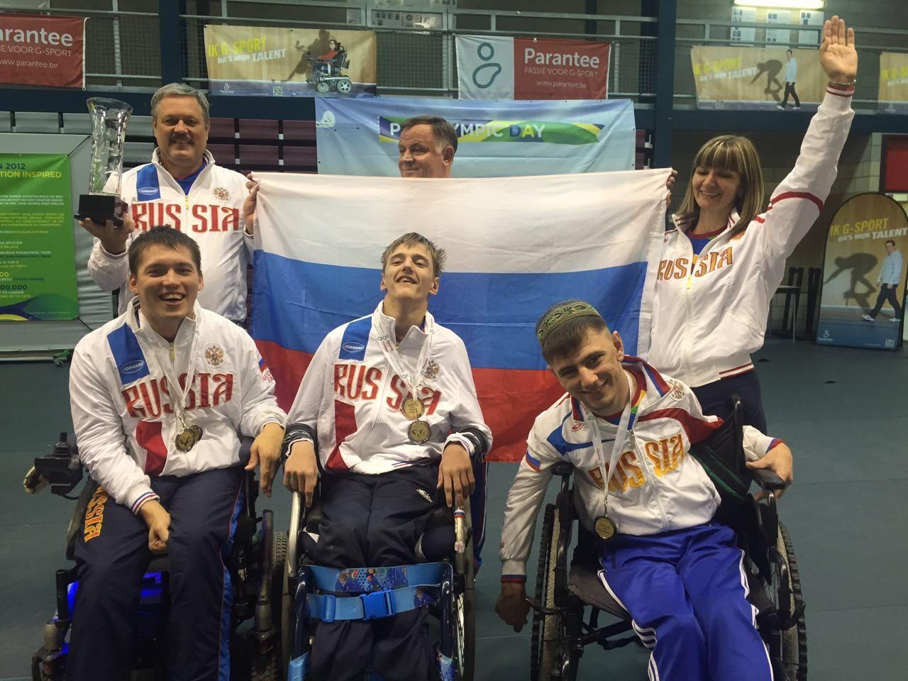 Российские спортсмены завоевали три медали на престижном международном турнире по бочча