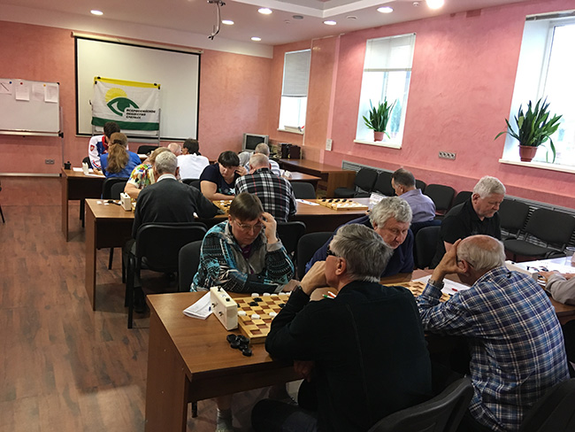 Сборная команда Республики Татарстан стала победителем командного чемпионата России по русским шашкам среди спортсменов с нарушением зрения