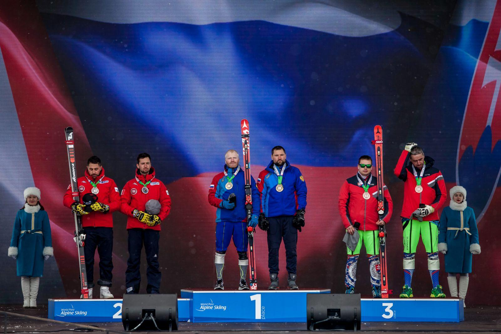 2 золотые, 5 серебряных и 8 бронзовых медалей завоевала сборная России по итогу пяти соревновательных дней 4-го этапа Кубка мира по горнолыжному спорту МПК в Южно-Сахалинске