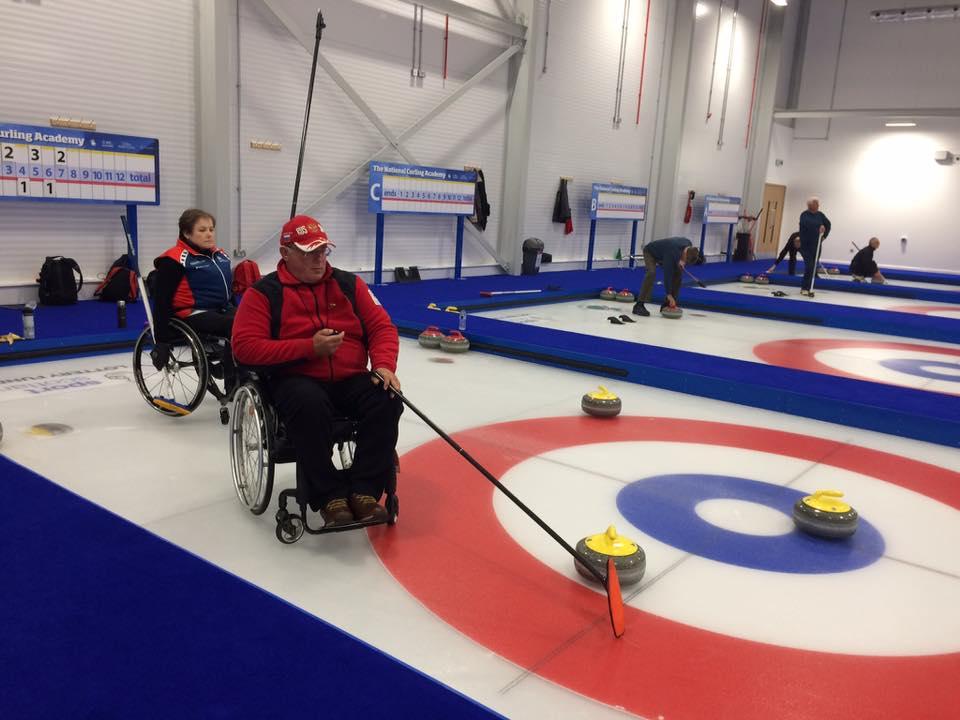 Сборная команда России по керлингу на колясках примет участие в международных соревнованиях в шотландском городе Стирлинг