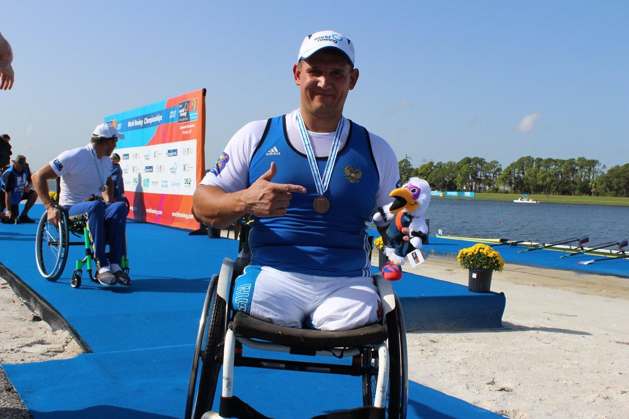 Российский спортсмен Алексей Чувашев завоевал бронзовую медаль на чемпионате мира по академической гребле ПОДА в США