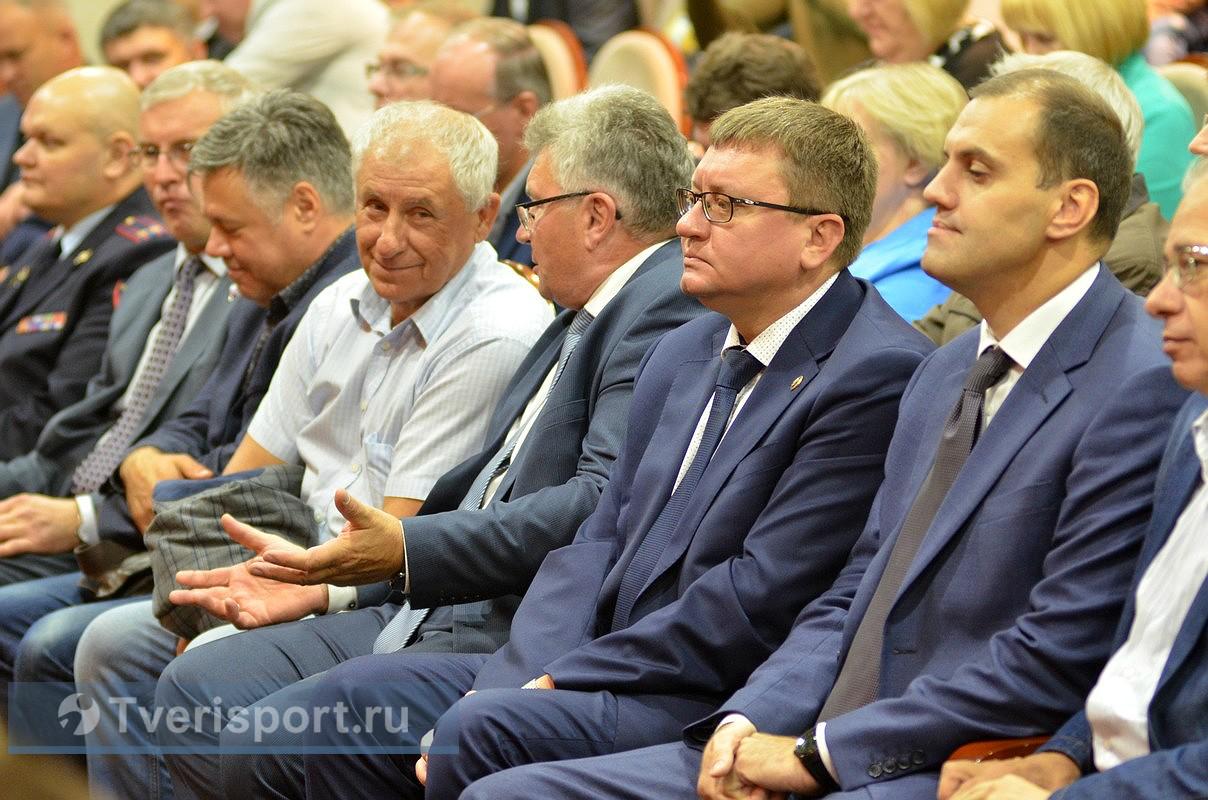 А.А. Строкин в г. Твери принял участие в региональном торжественном мероприятии, посвященном празднованию Дня Физкультурника