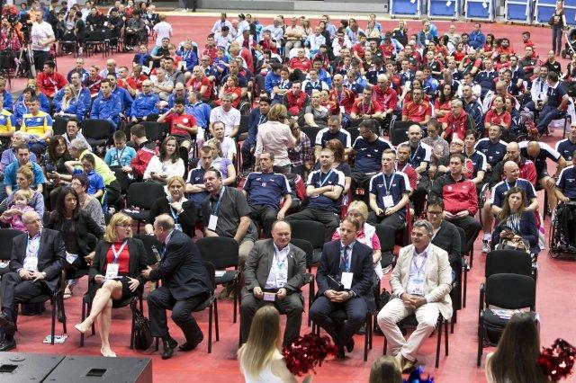 В Словакии прошла церемония открытия и первый соревновательный день командного чемпионата мира по настольному теннису спорта лиц с ПОДА и ЛИН