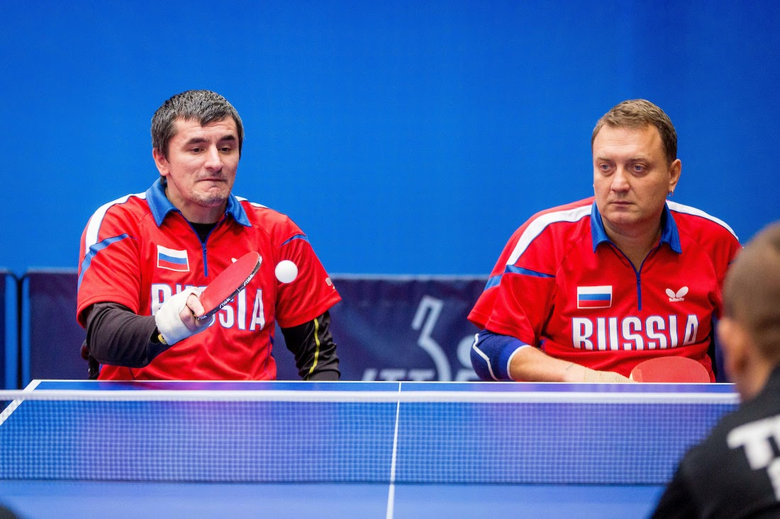 6 российских спортсменов вышли на старт международного турнира по настольному теннису спорта лиц с ПОДА  «China open 2019»