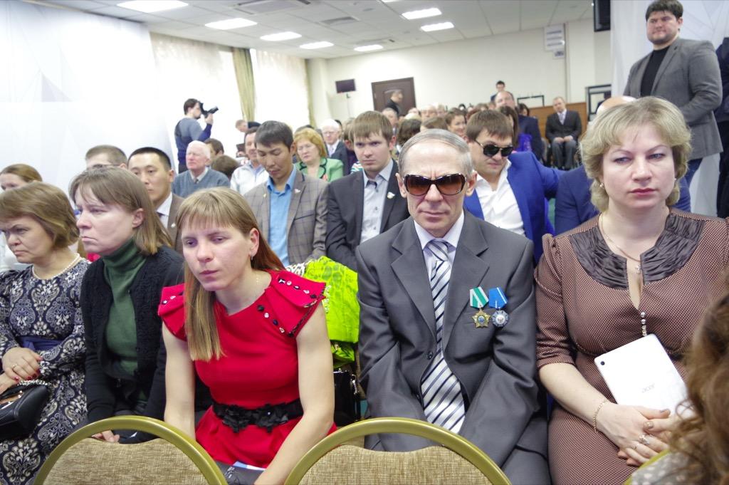 В доме паралимпийского спорта состоялось очередное заседание Паралимпийского собрания под председательством президента ПКР В.П. Лукина