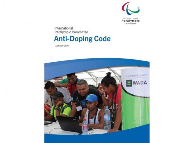 Международный паралимпийский комитет (МПК) опубликовал антидопинговый кодекс МПК на 2015 год