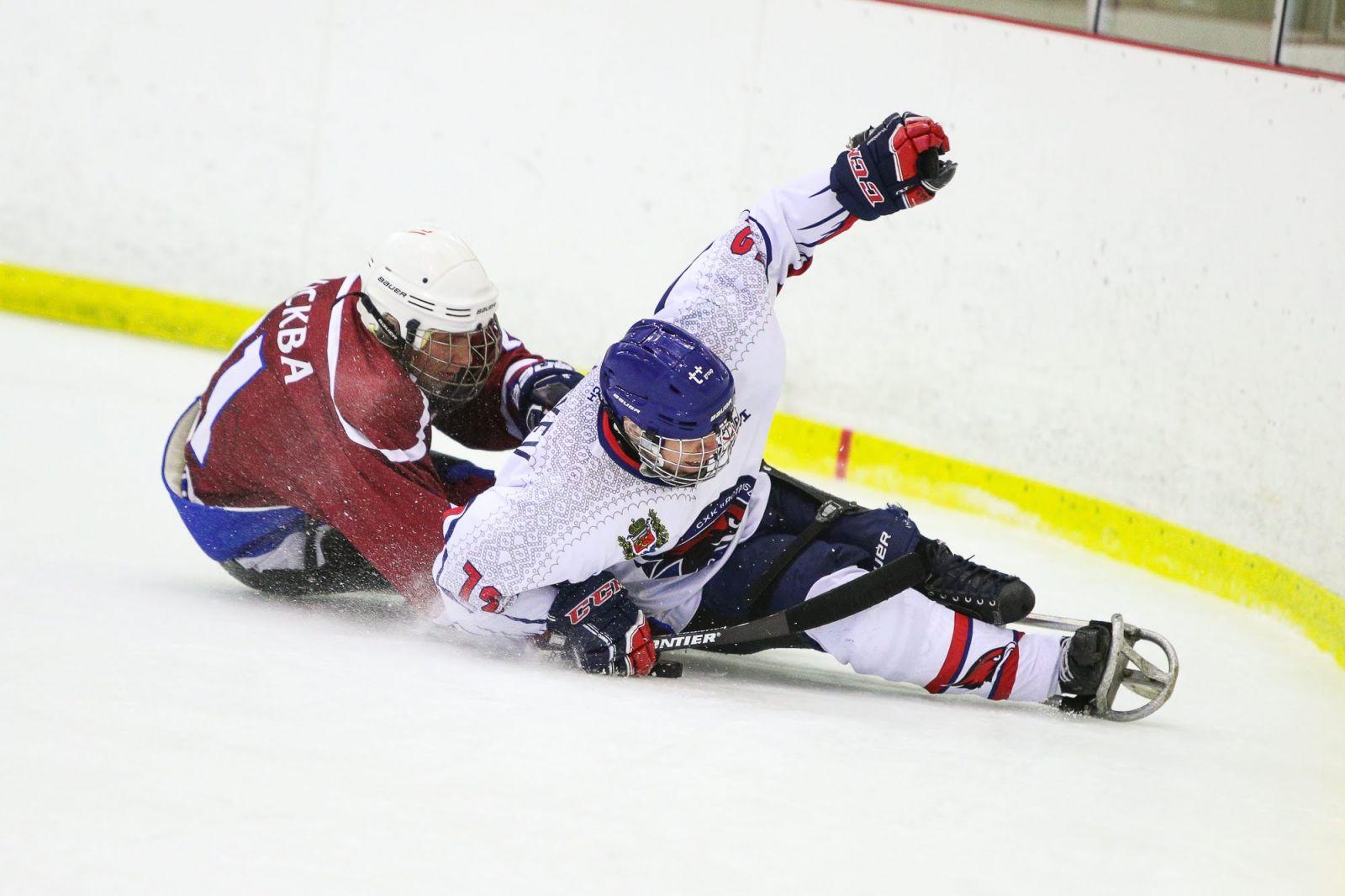 8 команд примут участие в 1 круге чемпионата России по следж-хоккею в Тульской области