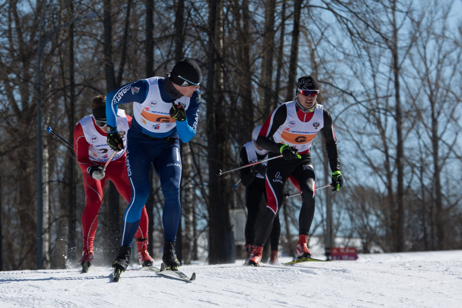 В Пермском крае проходит чемпионат и первенство России по лыжным гонкам и биатлону спорта слепых