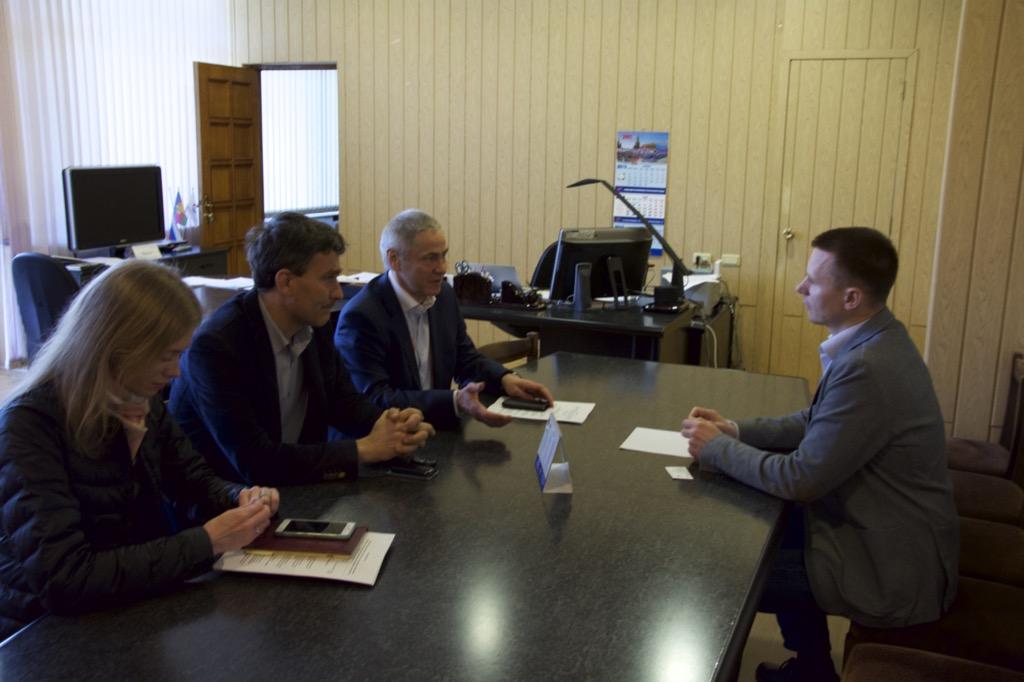 в г. Сочи П.А. Рожков провел рабочую встречу с генеральным директором ЗАО СКО «Адлер-курорт» А.В. Лагерем