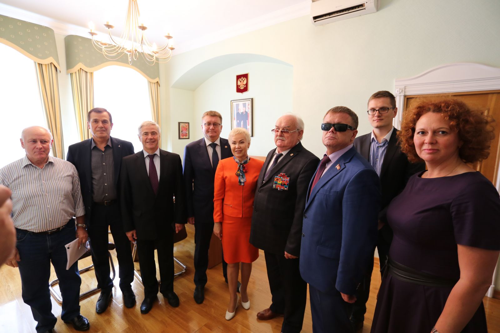 Чемпионы и призеры Паралимпийских игр, чемпионатов мира и Европы встретились с руководителями ПКР и ВОС по вопросам развития спорта слепых в России