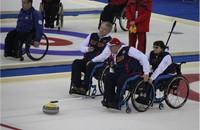 Сборная команда России по керлингу на колясках заняла третье место на международных соревнованиях в Шотландии