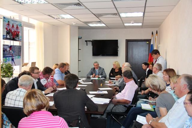 П.А. Рожков провел  заседание Рабочей  группы  по подготовке к Паралимпийским летним  играм в Лондоне