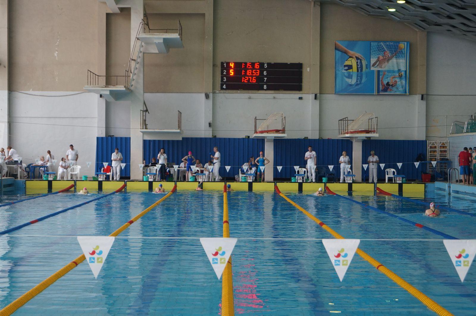 Около 300 пловцов вышли на старты чемпионатов России спорта лиц с ПОДА и нарушением зрения и Кубка России спорта ЛИН