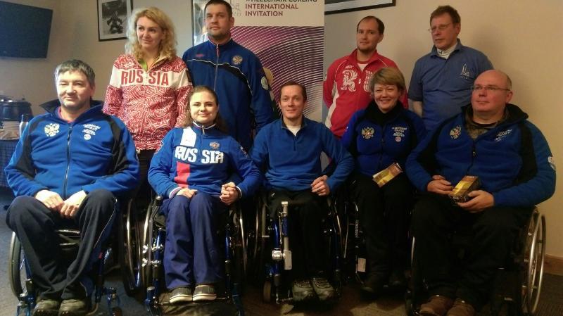 Сборная России по керлингу на колясках стала серебряным призером крупного международного турнира в Шотландии
