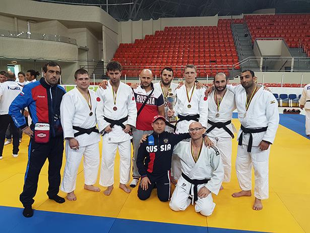 Российские дзюдоисты спорта слепых одержали шесть побед на международных соревнованиях в Литве