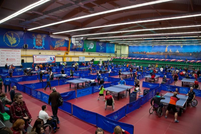 Российские спортсмены поспорят за награды международного турнира по настольному теннису спорта лиц с ПОДА в Испании