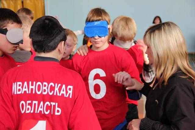 В рамках Международной декады инвалидов  региональным отделением ПКР в Ивановской области (В.М. Саламахин)  проведены  спортивные мероприятия