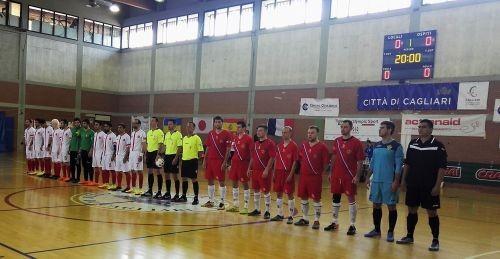 Сборная команда России по футзалу спорта слепых завоевала бронзовые медали на чемпионате мира в Италии