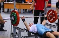 На РУТБ «ОКА» прошли чемпионат и первенство (юниоры) России по пауэрлифтингу спорта слепых
