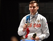 #trainingtogether with the World Championships repeated prize winner in Wheelchair Fencing Albert Kamalov