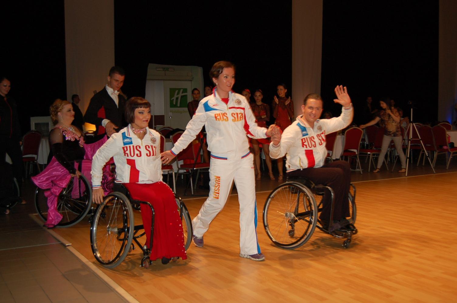 Сборная России по танцам на колясках завоевала 8 золотых медалей на международном турнире в Сербии