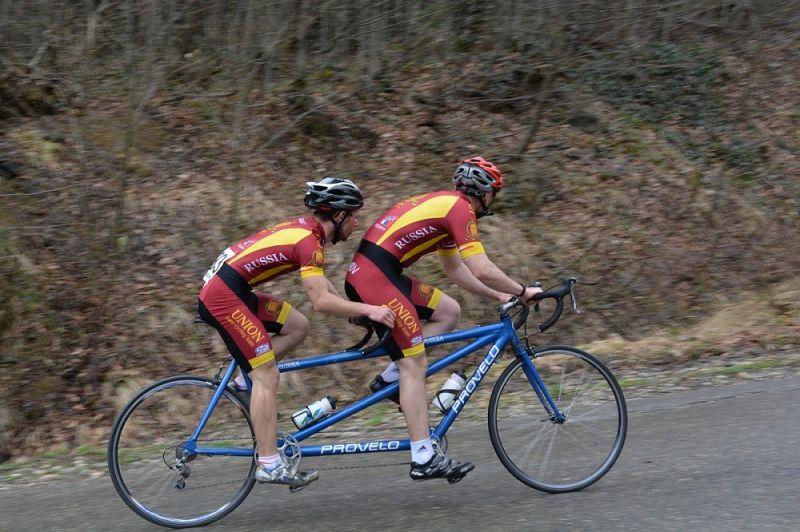 Ведущие спортсмены страны в Тульской области примут участие в Кубке России по велоспорту-тандем на шоссе среди слепых