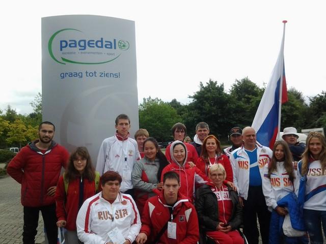 В г. Стадсканал (Нидерланды) стартовали Всемирные игры Международной спортивной федерации колясочников и ампутантов (IWAS)