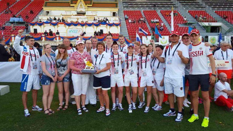 Сборная России по легкой атлетике спорта лиц с интеллектуальными нарушениями заняла первое общекомандное место на чемпионате мира в Таиланде