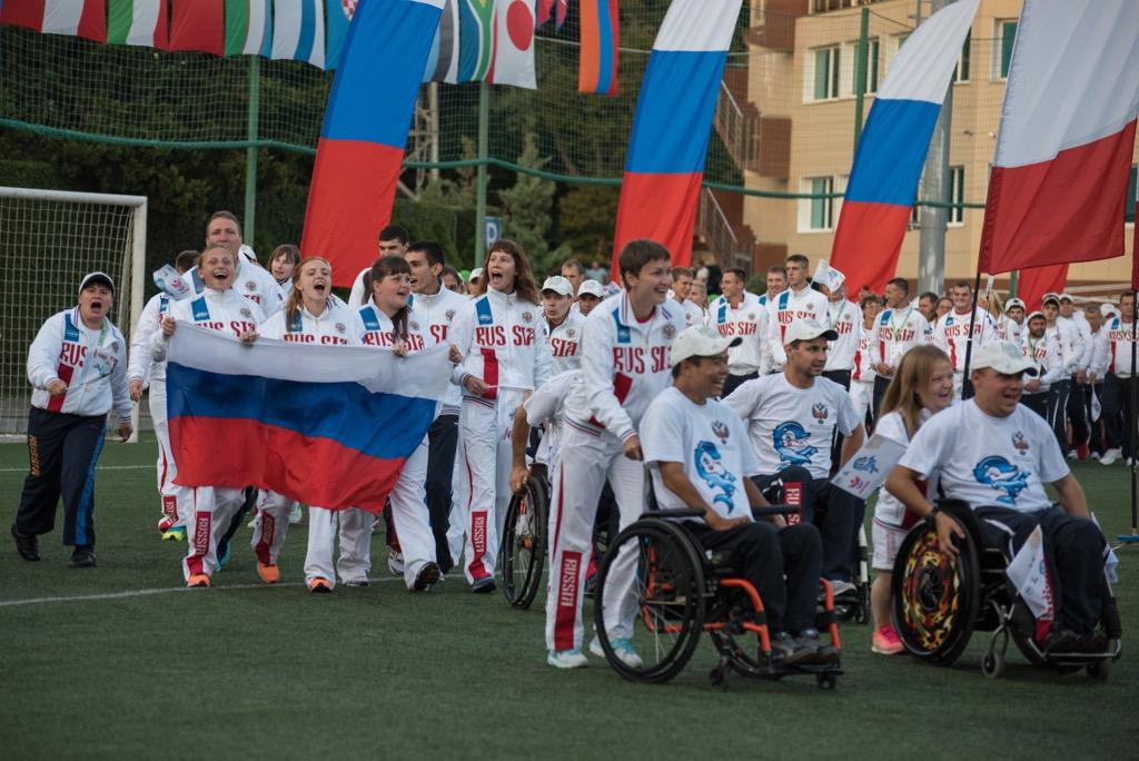 Список паралимпийской сборной команды России, принимающей участие в Открытых Всероссийских соревнованиях по видам спорта, включенным в программу Паралимпийских игр