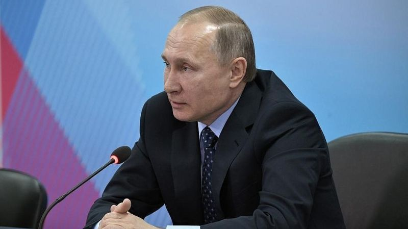 Президент РФ В.В. Путин о совершенствовании системы антидопингового контроля в России