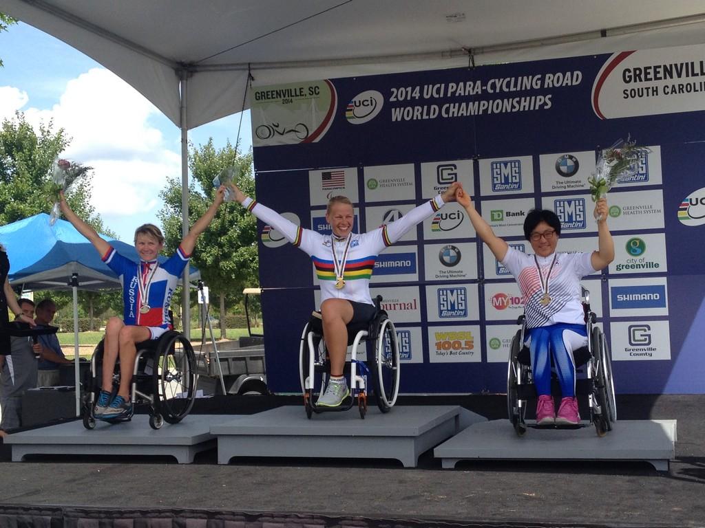 Сборная команда России завоевала 3 медали в заключительный день чемпионата мира по велоспорту среди лиц с ПОДА