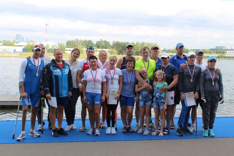 Спортсмены сборной команды Московской области одержали наибольшее количество побед на чемпионате России по академической гребле спорта лиц с ПОДА
